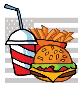 Burger clipart soda. Free and fries image