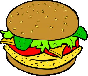 Burger clipart transparent background. Clip art download fast