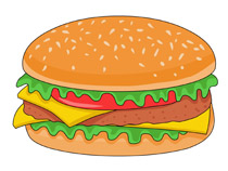 Search results for clip. Burger clipart