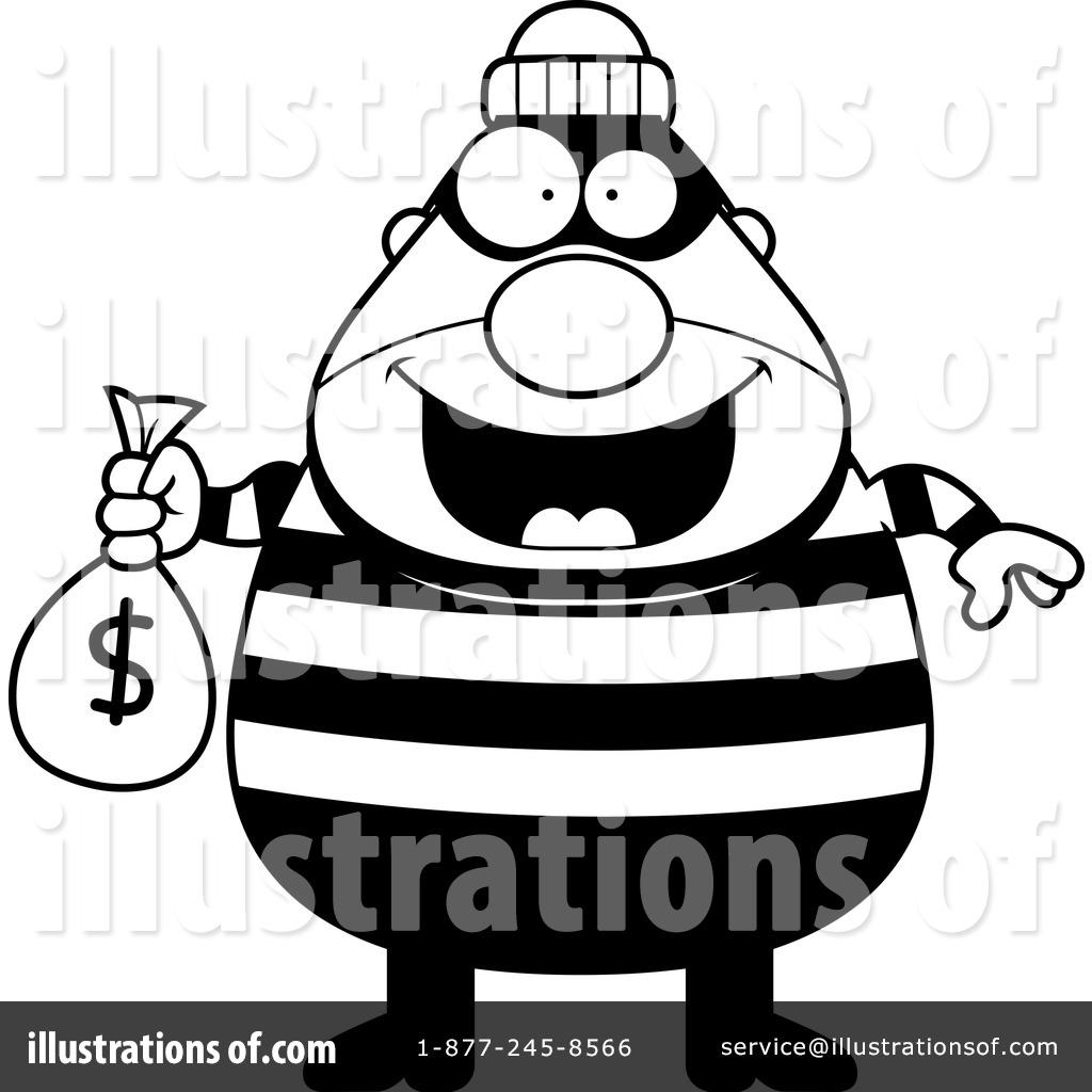Illustration by cory thoman. Burglar clipart