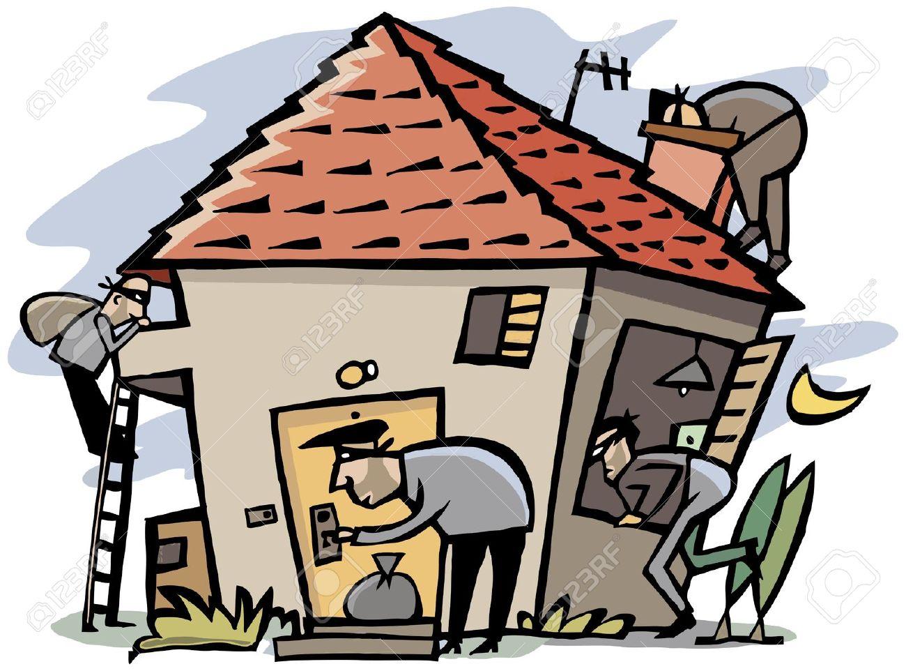 Burglar clipart. Home burglary