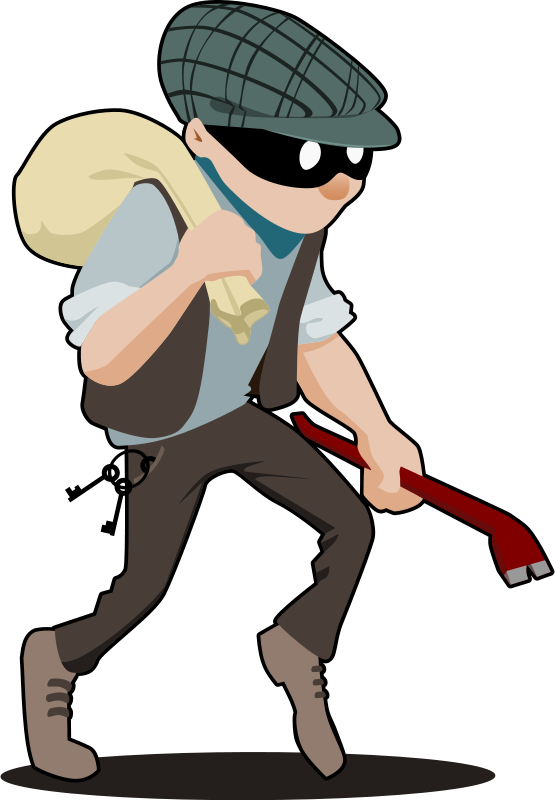 Criminal clipart delinquency. Free burglar psd files