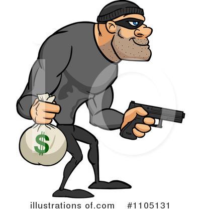 Robber illustration by cartoon. Burglar clipart animated