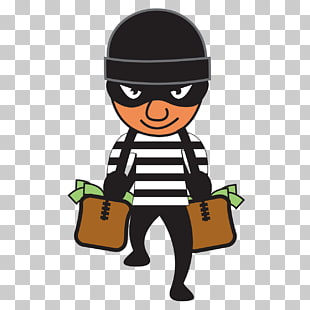 robbery png cliparts. Burglar clipart bag