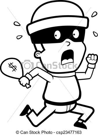 Burglar clipart black and white. Portal
