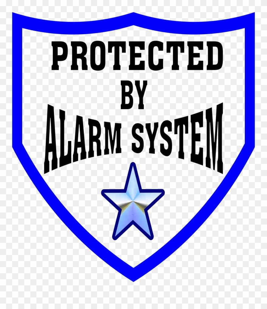 Burglar clipart burglar alarm. System clip art security