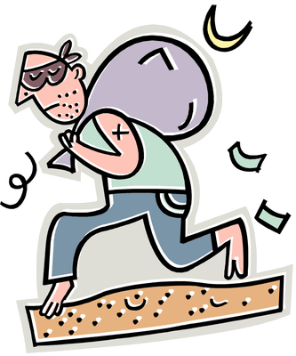 Burglar clipart burglary. How to protect your