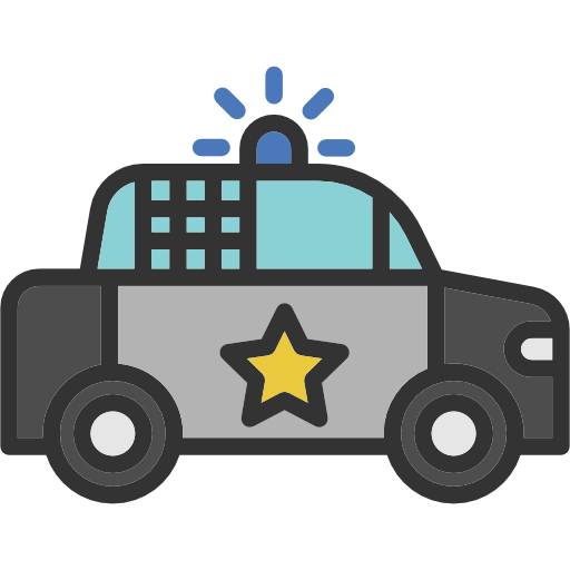 Burglar clipart car. Police elements icon png