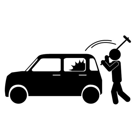 . Burglar clipart car