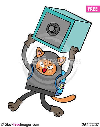 Burglar clipart cat burglar. Free stock images photos