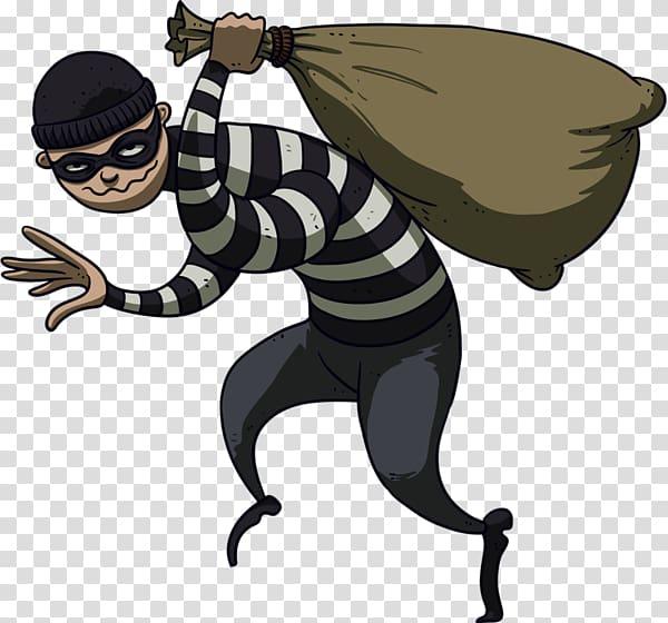 Burglar clipart character. Thief robbery theft cartoon