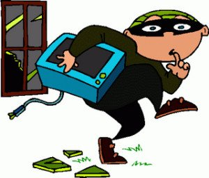 Burglar clipart character. Battling burglars coastalmags com