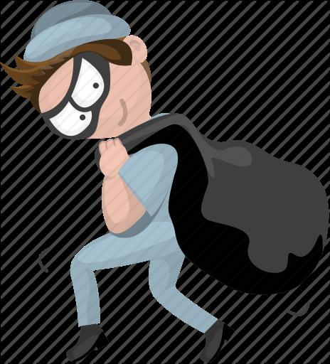 Burglar clipart character. Cartoon characters by seanau
