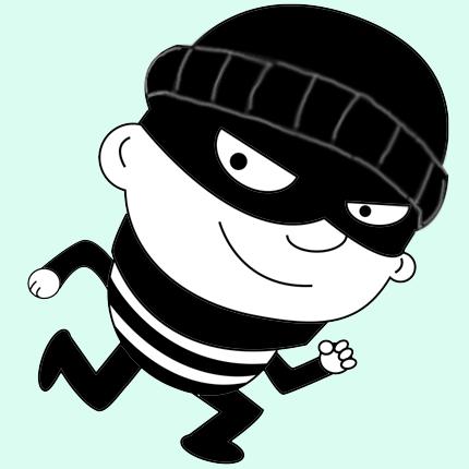 Thief drawing at getdrawings. Burglar clipart character