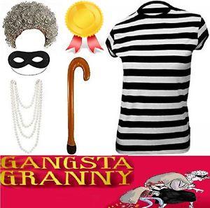 Adult gangsta granny fancy. Burglar clipart gangster
