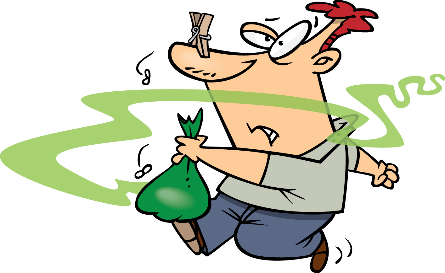 Garbage clipart bad odor. April commongunsense smelly