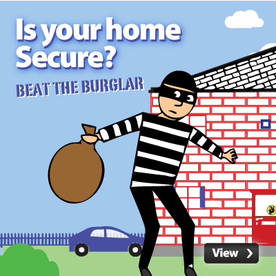 Burglar clipart in house. Beat the with bbc