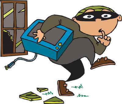 ways to prevent. Burglar clipart intruder