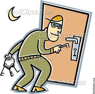 Burglar intrusion