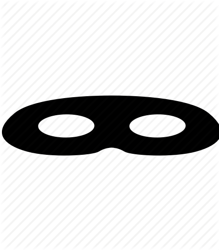 Masks and conspiracy by. Burglar clipart mask