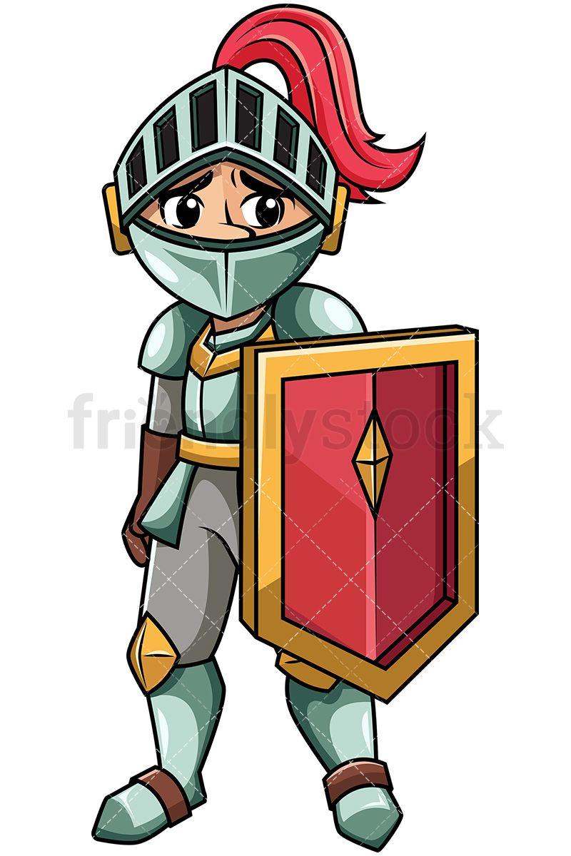 Burglar clipart medieval. Defeated humiliated knight cartoon