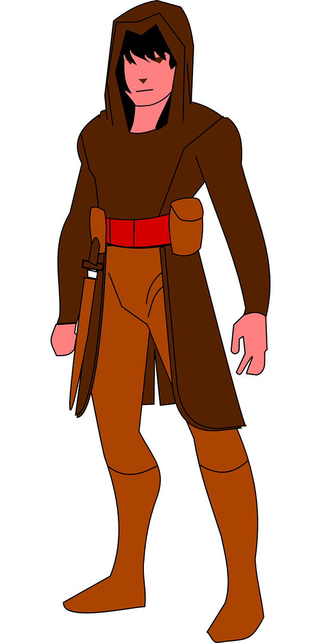 Rogue thief assassin guild. Burglar clipart medieval