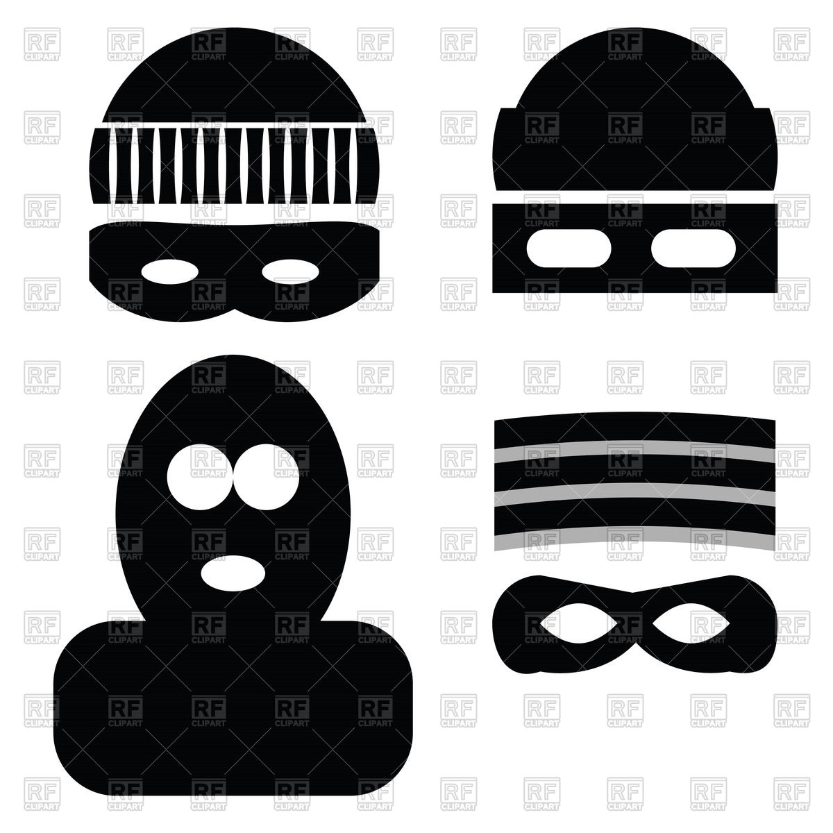 Burglar clipart old fashioned. Enchanting mask template image