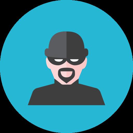 Burglar clipart perpetrator. Icon size