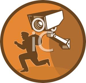 A being caught on. Burglar clipart perpetrator