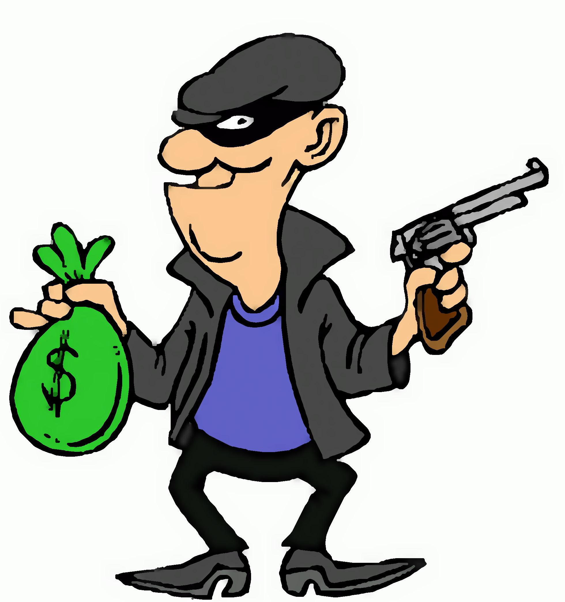 Burglar clipart rob. Free download best on