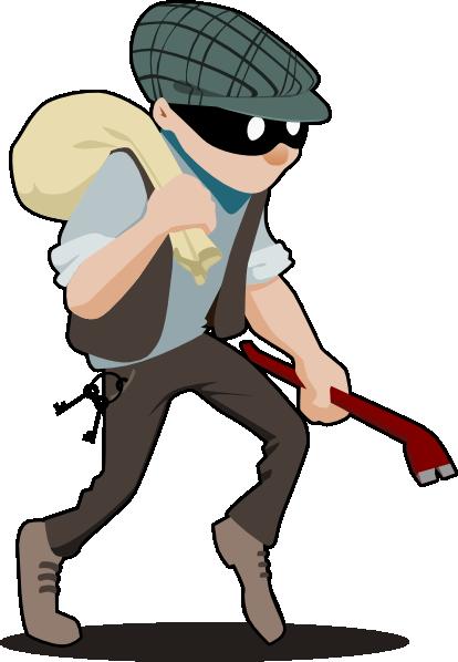 burglar clipart robber