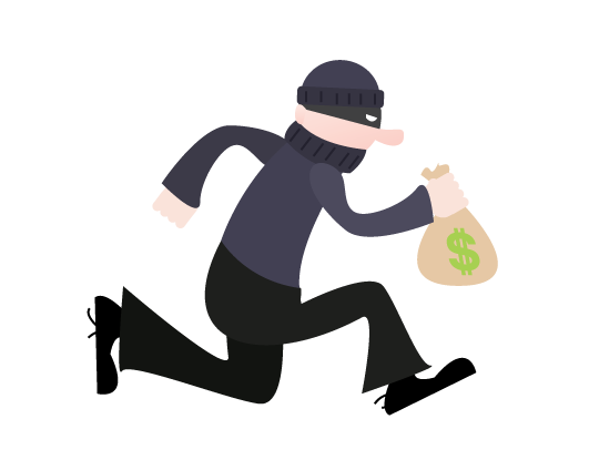 Crime clipart bank robber.  collection of thief