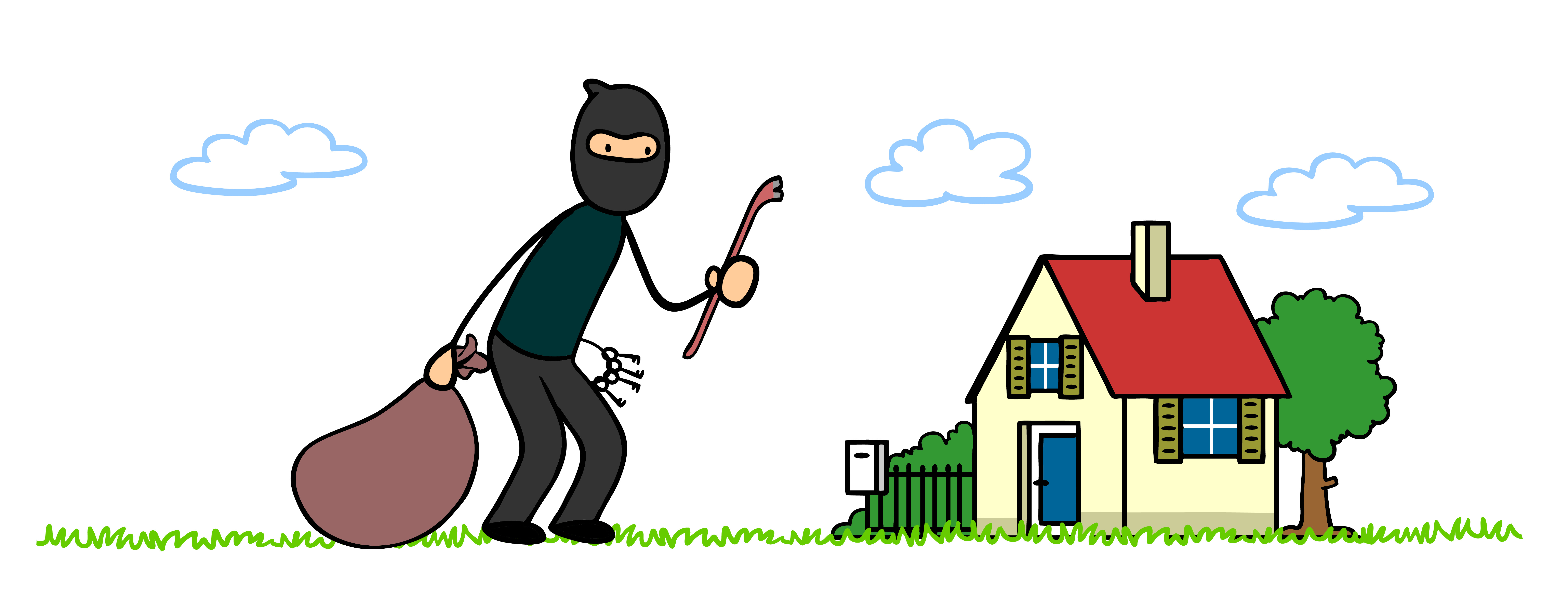 Burglar clipart safe home. Out of the mouths