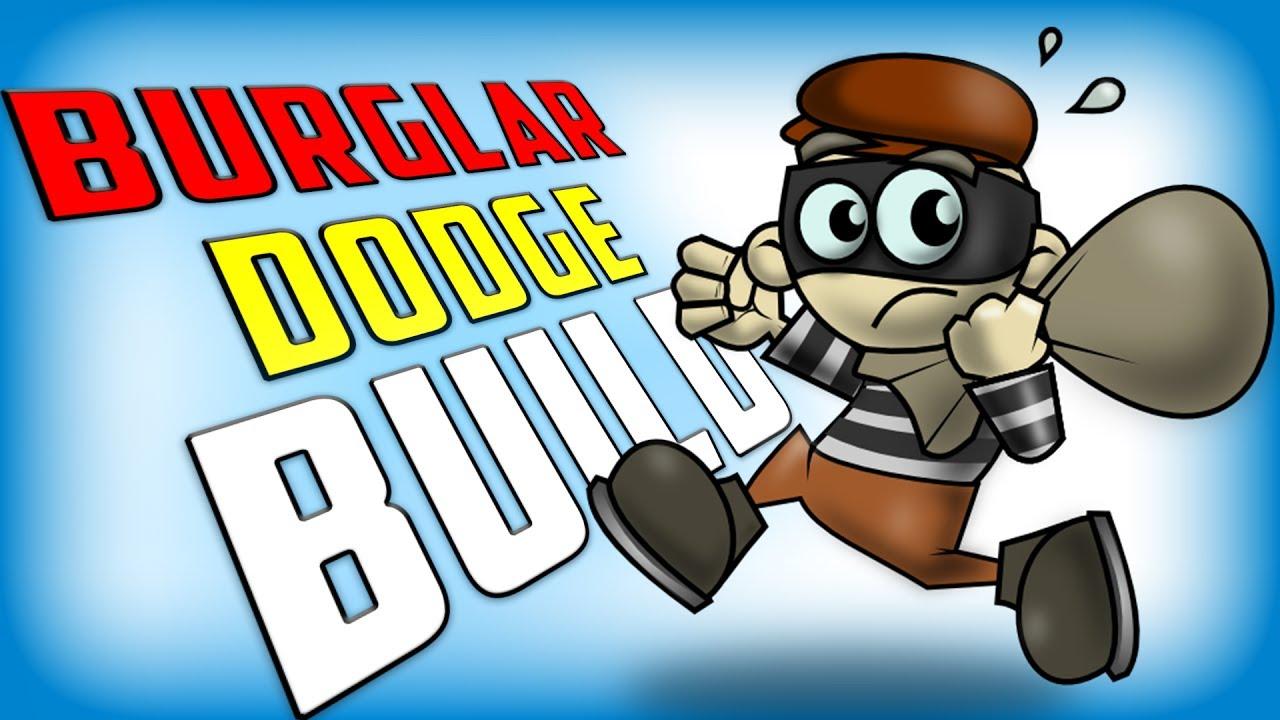 Burglar clipart smuggler. Crazy d dodge build