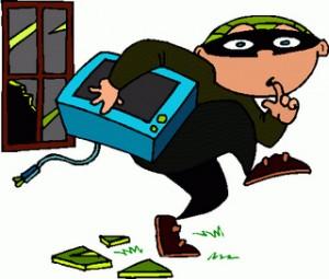 burglar clipart theft