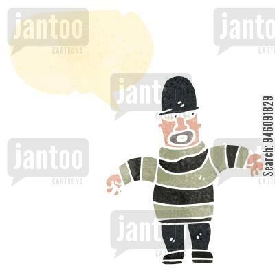 Cartoons humor from jantoo. Burglar clipart thug