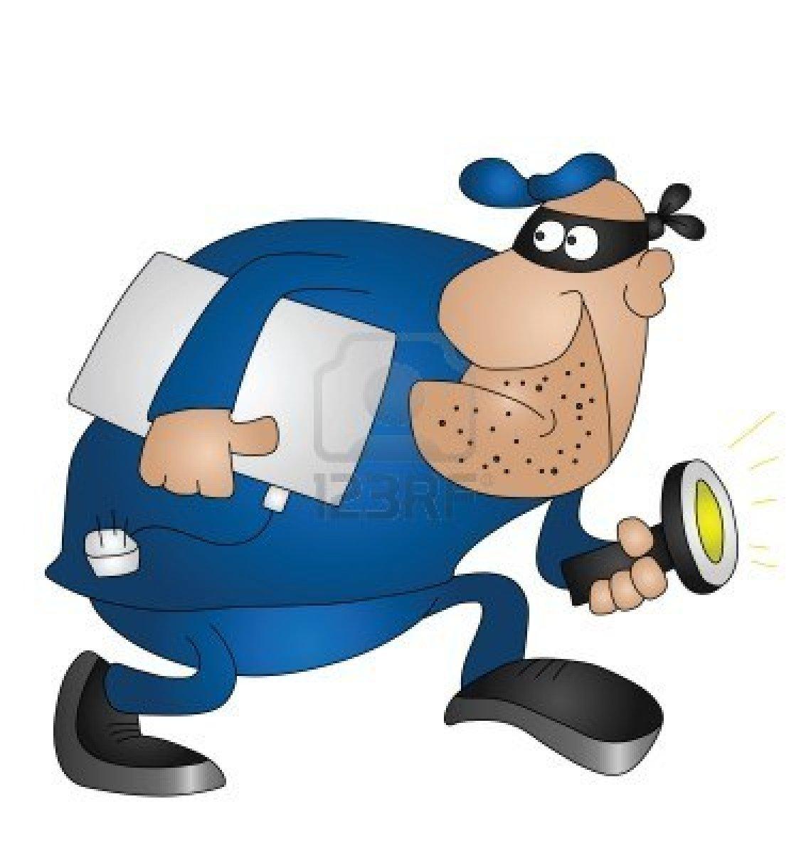 Burglar clipart transparent.  cartoon isolated on