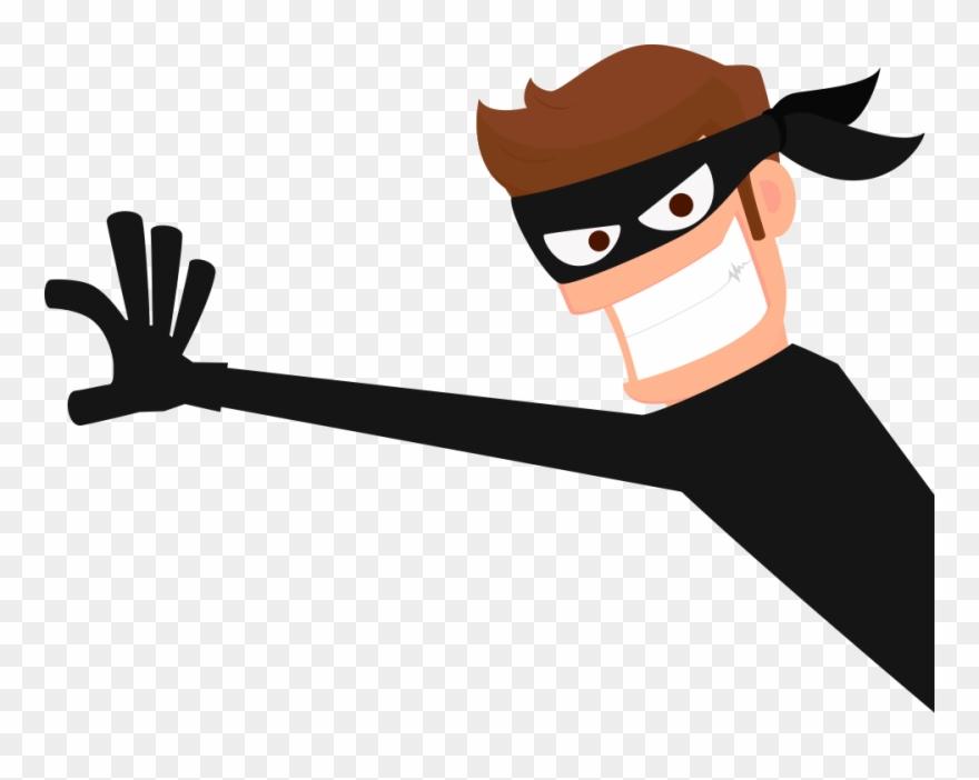 Clip library thief robber. Burglar clipart transparent
