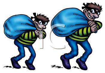 Burglar clipart two. Burglars images and royalty