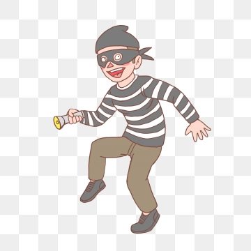 Burglar clipart vector. Thief png psd and
