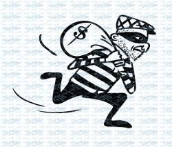 Burglar vintage