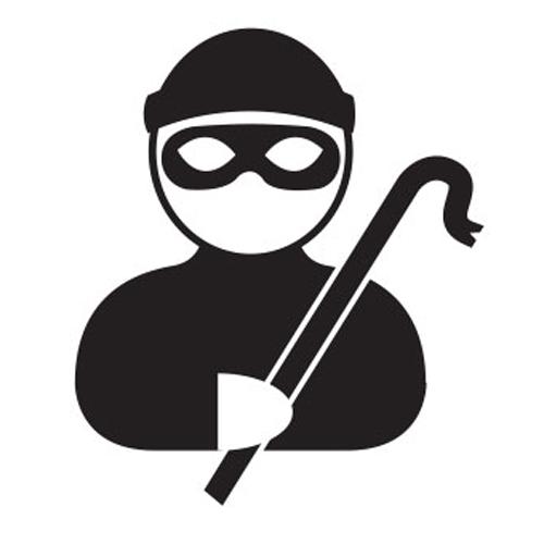 Burglar clipart window. Ikona wood ginko safe