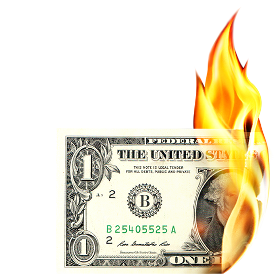 Burning money png. Transparent transparentpng