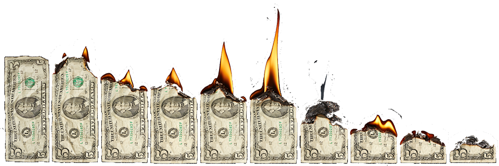 Cash usd fix my. Burning money png