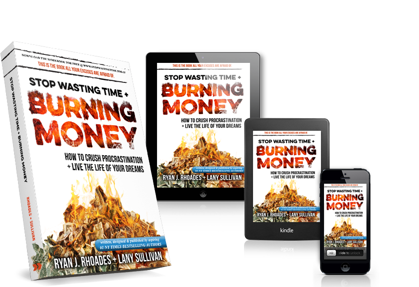Stop wasting time and. Burning money png