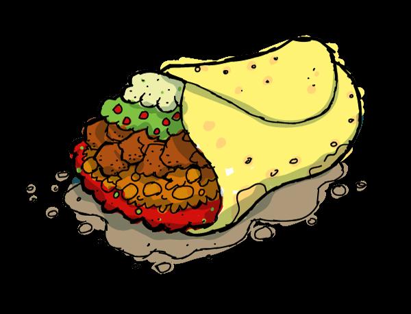 Cliparts zone . Burrito clipart