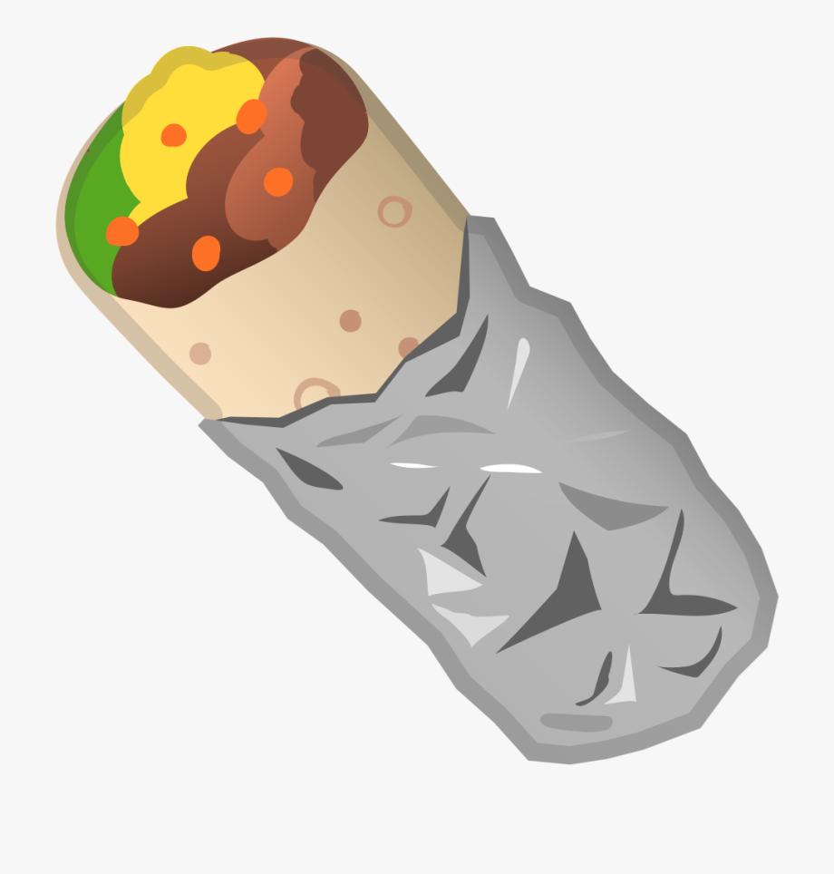 Burrito clipart. Icon emoji free cliparts