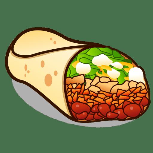 Burritos images gallery for. Burrito clipart