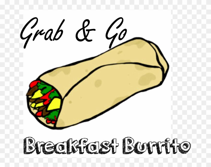 Burrito clipart breakfast burrito. Pinclipart