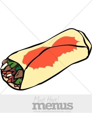 burrito clipart burito